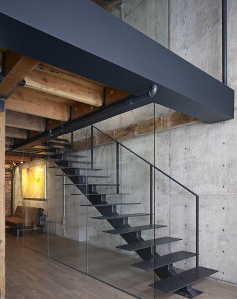 Loft industrial moderno en san francisco lofts barcelona for Loft modernos exterior