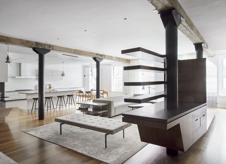 El proyecto de Loft Tribeca del estudio Office of Architecture